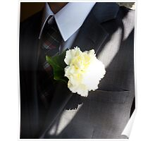 Wedding Buttonhole Poster