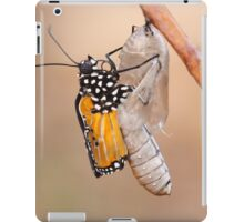common tiger butterfly emerging from its cocoon iPad Case/Skin