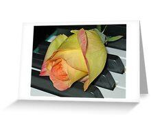 Christmas Rose Greeting Card