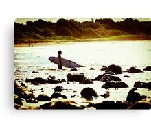 Going Surfing - Point Plumber NSW Canvas Print