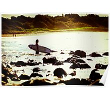 Going Surfing - Point Plumber NSW Poster