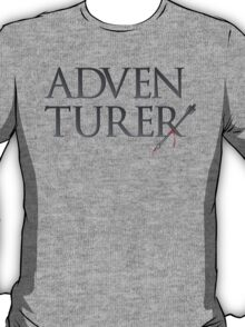 Adventurer no more. T-Shirt