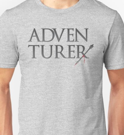 Adventurer no more. Unisex T-Shirt