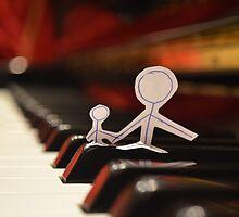 Enjoying Music by Tamara Al Bahri