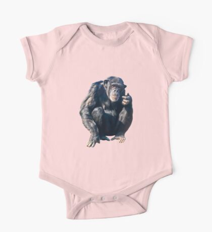 Chimpanzee One Piece - Short Sleeve