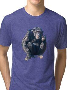 Chimpanzee Tri-blend T-Shirt