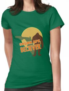 Florida's Skunk Ape Womens Fitted T-Shirt
