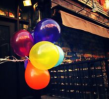 Balloons - East Village - New York City by Vivienne Gucwa