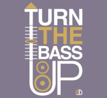 TURN THE BASS UP - Crossfader & Speaker DJ Kids Clothes