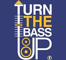 TURN THE BASS UP - Crossfader & Speaker DJ Unisex T-Shirt
