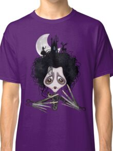 Edward Scissorhands Cartoonified Unisex T-shirt for Adults