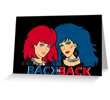 Kimber & Stormer - Back to Back Greeting Card