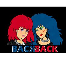 Kimber & Stormer - Back to Back Photographic Print