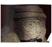 A Peruvian Ancient Head Poster