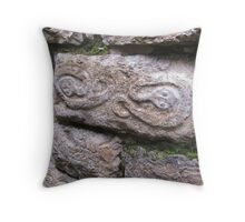 Snakes In Kuelap Throw Pillow