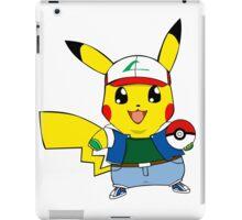 Pikachu as Ash iPad Case/Skin