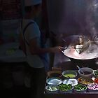 Preparing street food in Thailand 2 by faceart