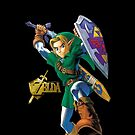 Zelda with Gold Title iPhone Case by TalkThatTalk