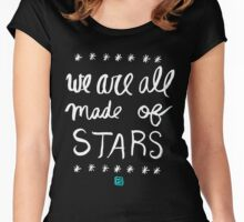 Made of Stars (inverse) Women's Fitted Scoop T-Shirt