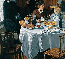 The Luncheon - Claude Monet - 1868 by paulrommer