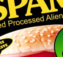 SPAM - Sliced Processed Alien Meat Sticker