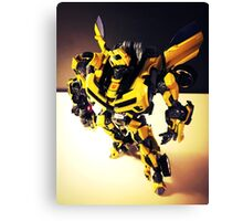 Transformers Bumblebee Canvas Print