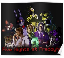 Five nights at Freddy's crew Poster