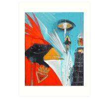 anthonys cardinal 3 Art Print