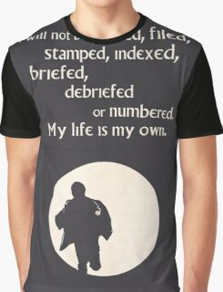 TV Quote - The Prisoner Graphic T-Shirt