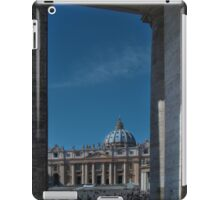 View Of St Peter's  iPad Case/Skin