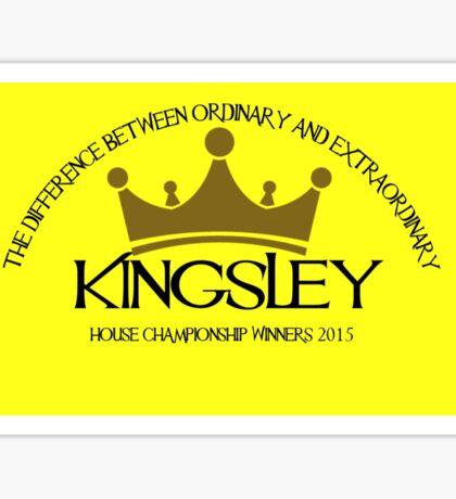Kingsley House Logo Sticker