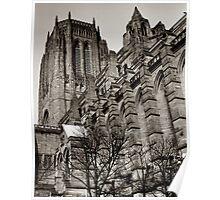Anglican Cathedral Liverpool Poster