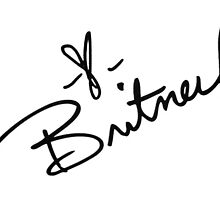 Britney Spears' Signature by dabb13z