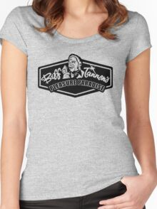 Biff Tannen's Pleasure Paradise Women's Fitted Scoop T-Shirt