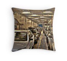 car ferry Throw Pillow