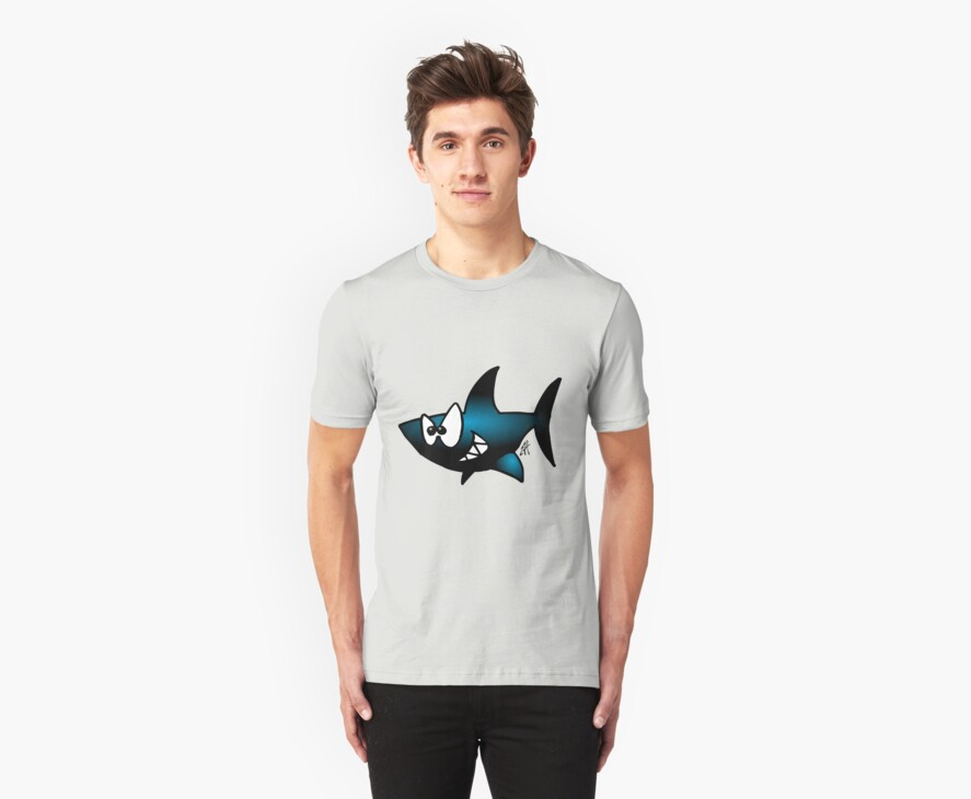 Smiling Shark by cardvibes