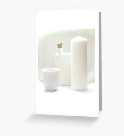 White goods Greeting Card