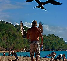 The Man and the Seabirds by Turtle6