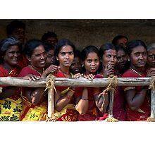 Ladies in Waiting Photographic Print
