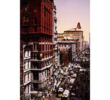 Vintage Broadway NYC Photo-Print (1900) Photographic Print