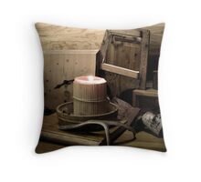 Wooden things Throw Pillow
