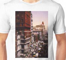 Vintage Broadway NYC Photo-Print (1900) Unisex T-Shirt