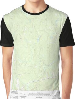 Maine USGS Historical Map Springfield 20110902 TM Graphic T-Shirt