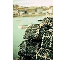 Lobster pots Photographic Print