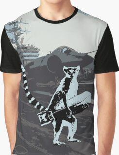 Lemur on duty Graphic T-Shirt