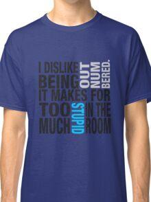 Sherlock quote se2 typography Classic T-Shirt