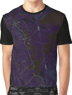 Maine USGS Historical Map Stratton 20110909 TM Inversion Graphic T-Shirt