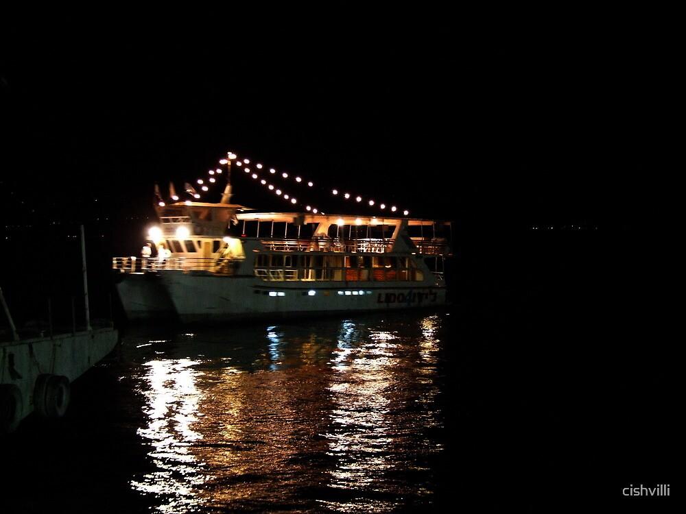 Sailing on the Tiberias Lake by cishvilli