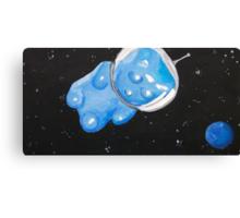 Gummy Bear in Space Canvas Print