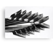 ^^^ Fork Off ^^^ Canvas Print